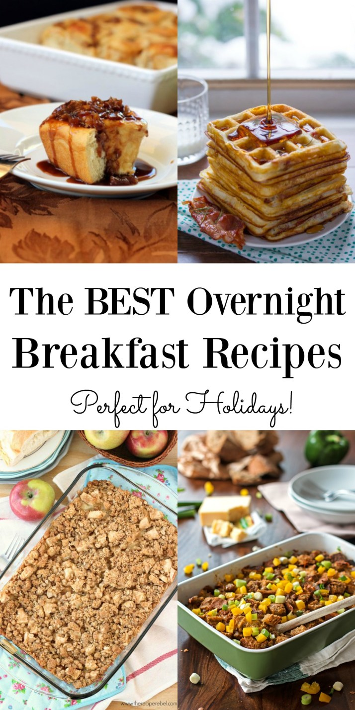 The Best Overnight Breakfast Recipes Maebells