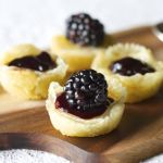 Brie and Blackberry Tarts