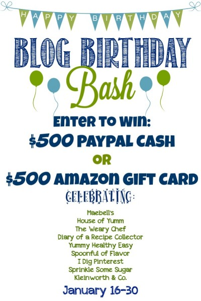 Enter to win $500 Amazon Gift Card OR $500 Paypal Cash!! www.maebells.com #giveaway