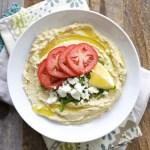 Easy Feta Hummus
