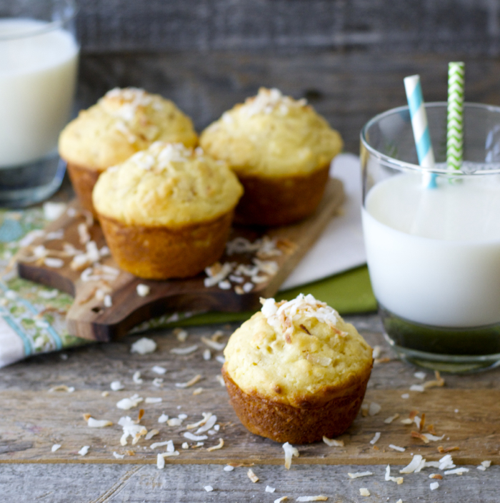 Delightful Toasted Coconut Muffins are the best way to start your day! And gluten free!