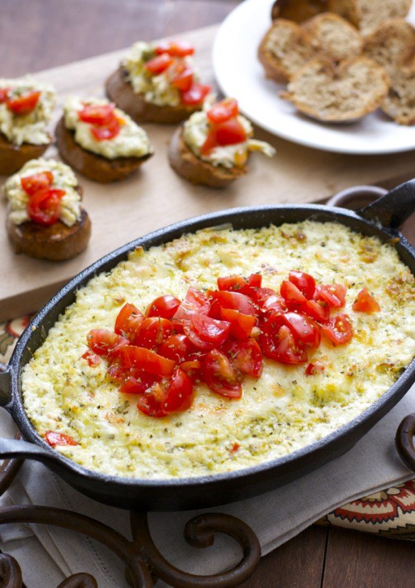 Pesto Chicken Dip