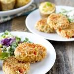 Caesar Salmon Patties