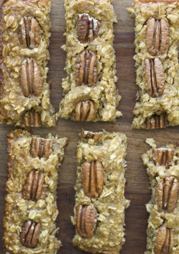 Banana Nut Oatmeal Bars