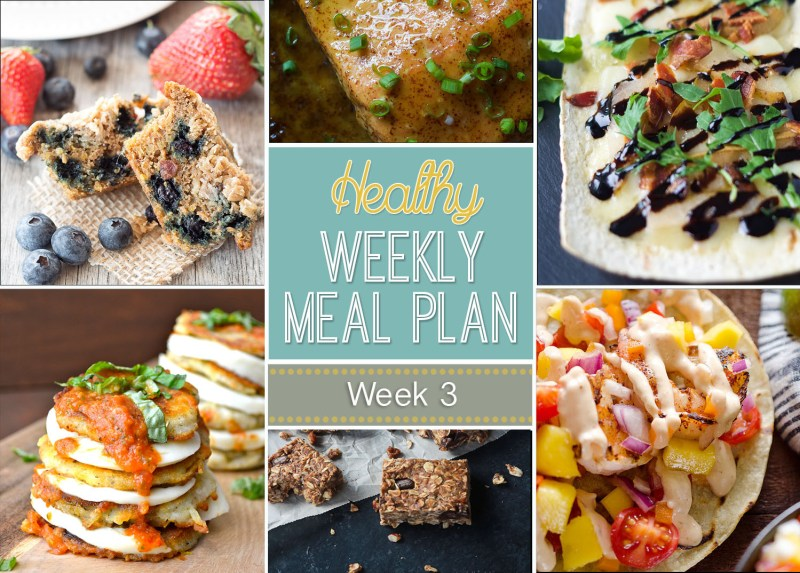 A weeks worth of totally healthy meals!
