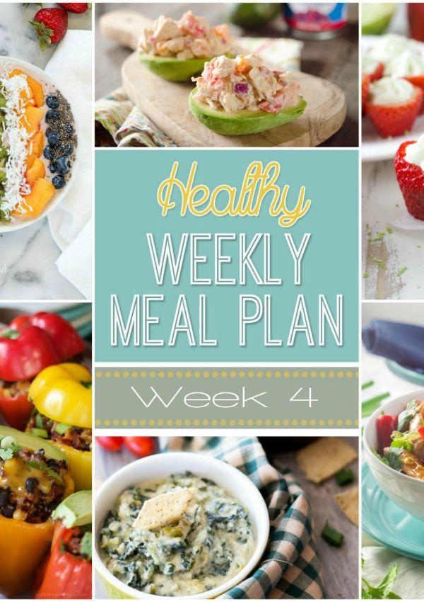 Healthy Meal Plan: Week 4
