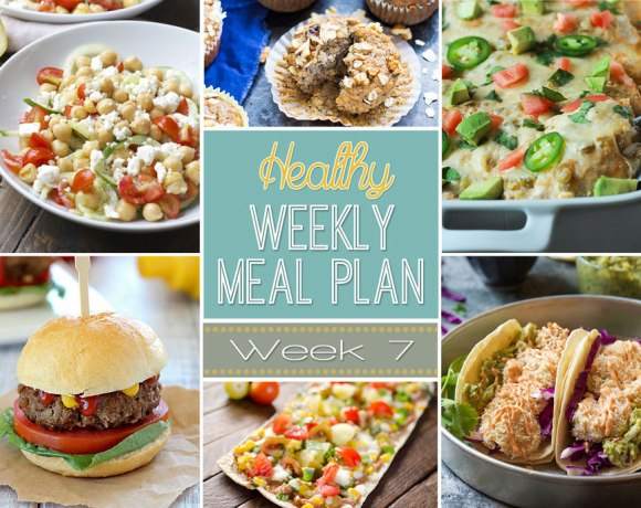Healthy Meal Plan: Week 7