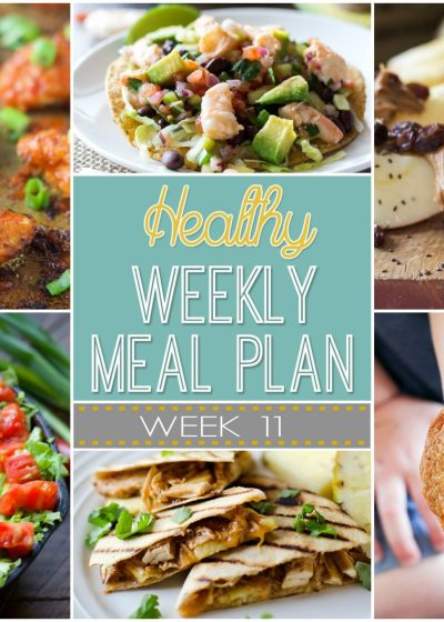 A weeks worth of Healthy Meal Plans!