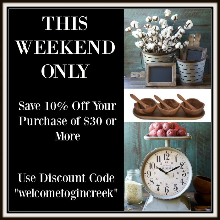 SALE! Gin Creek Kitchen Southern Home Decor