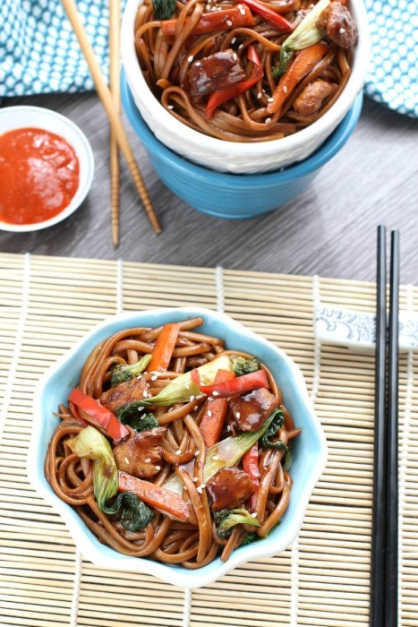The BEST Slow Cooker Chicken Lo Mein!
