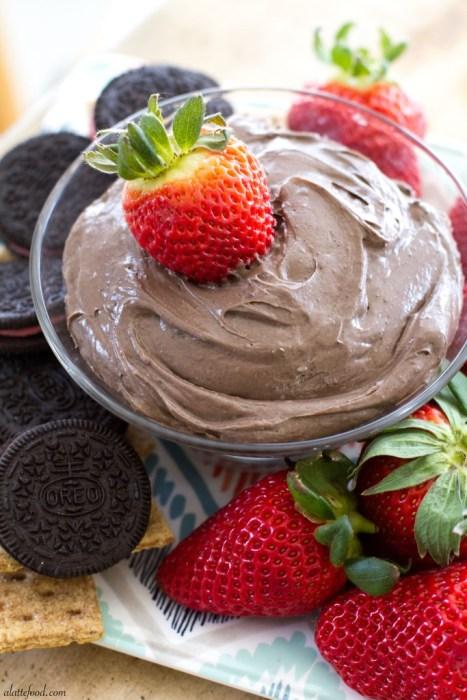 Chocolate Fluff Dip