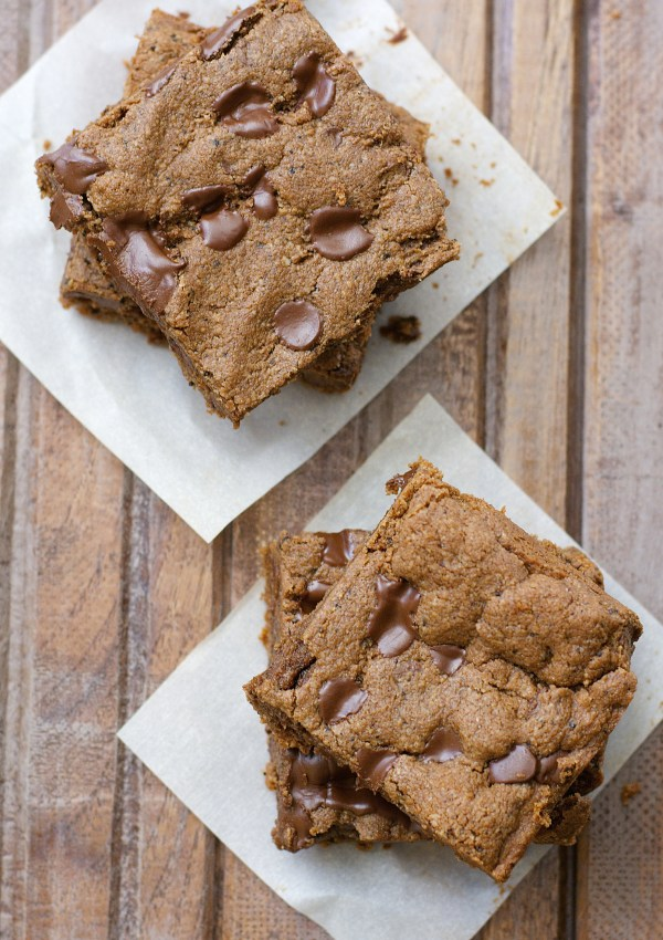 Almond Butter Espresso Bars