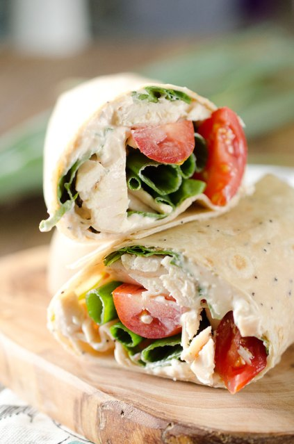 Light Chipotle Ranch Chicken Wrap
