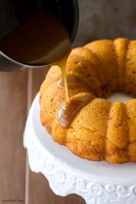 Sweet Potato Bundt Cake with Brown Sugar Glaze