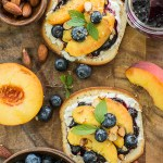 Sweet Peach Bruschetta