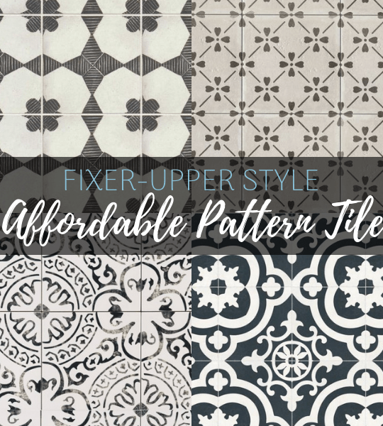 Farmhouse Style on a Budget: Affordable Pattern Tile