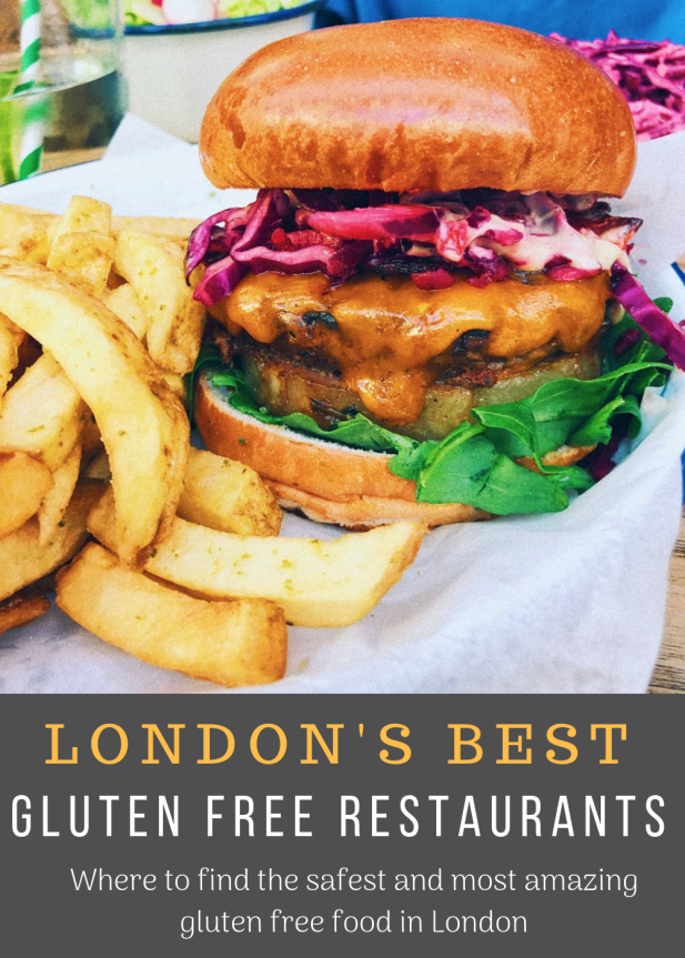 The Best #glutenfree Restaurants! Where to find the safest and most amazing gluten free food in London!