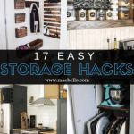 17 Easy Storage Hacks You Need