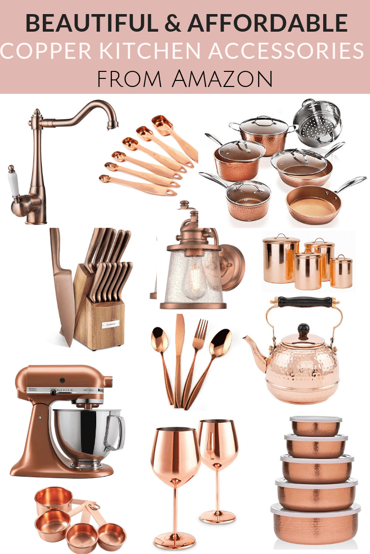 Beautiful and Affordable Copper Kitchen Essentials from Amazon!