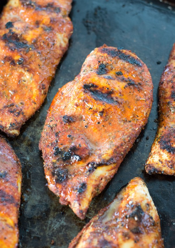 Easy Blackened Chicken (keto + low carb)