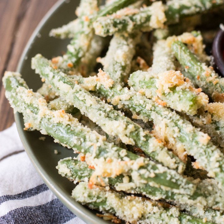 Easy Green Bean Fries (keto + low carb)