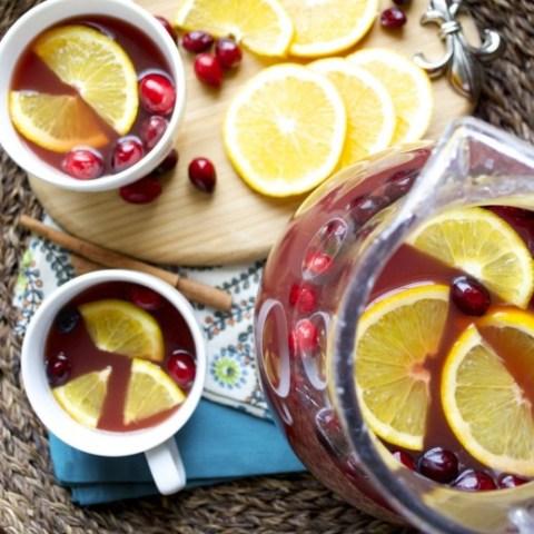 Cranberry Pineapple Spice Tea