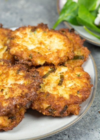 These are the best Keto Crab Cakes! They are perfectly tender on the inside and crispy on the outside and have less than one net carb each!
