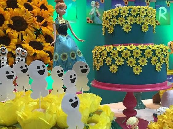 Festa Frozen Fever