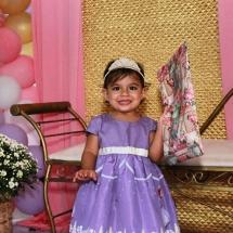 Vestido Temático modelo Princesa Sofia