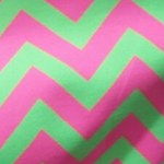 Estampa - zig zag rosa verde- Ref 09.00.31.0.04
