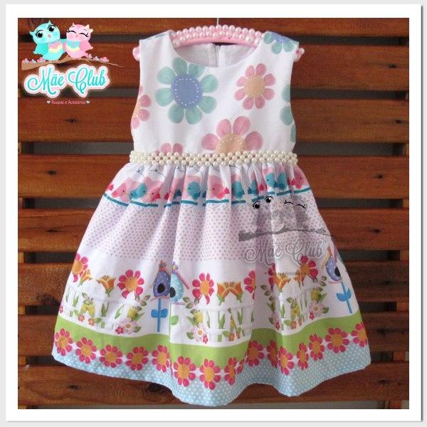 vestido jardim encantado