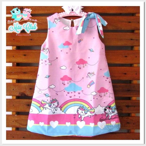 vestido tematico unicornio