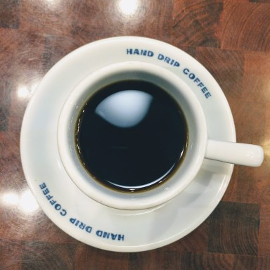 Handdrip coffee