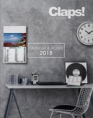 Claps calendari e agende 2018