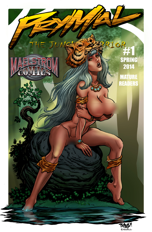 Prymal: The Jungle Warrior Nude Cover Edition #1 (3rd Print)
