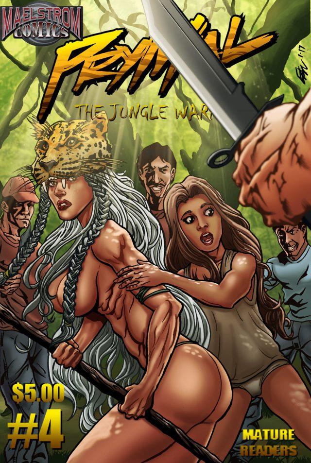 PTJW4 Prymal: The Jungle Warrior #4 (2nd Print)