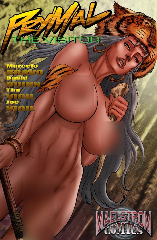 PVNPW Prymal: The Visitor #1 Urolagnia Fetish Nude Cover Edition (2nd Print)