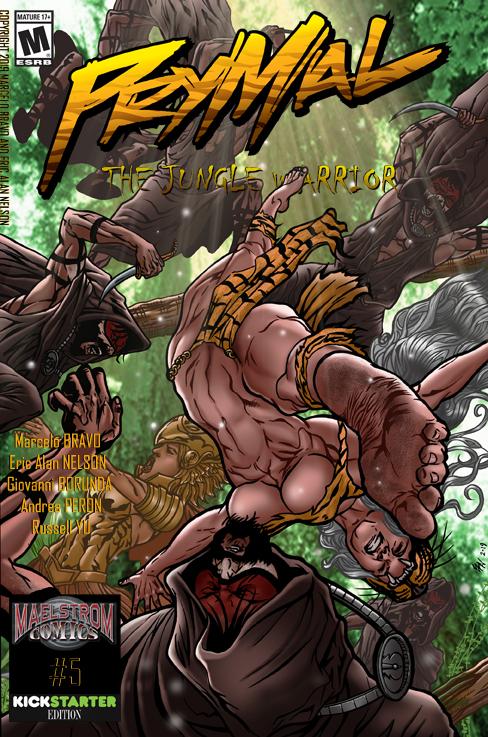 Prymal #5 Cover final lo rez