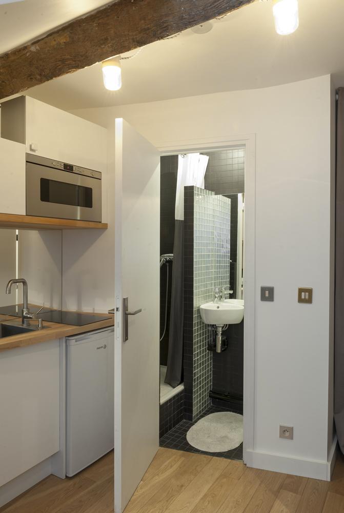 studio. Black Bedroom Furniture Sets. Home Design Ideas