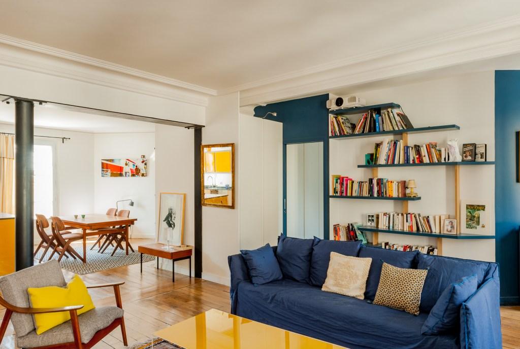 Appartement fontaine le chic et la boh me ma ma architectes - Le salon 105 ...