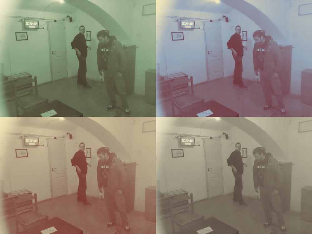 Exit the Room - Philipp und Thomas versuchen die Rätsel zu entschlüsseln