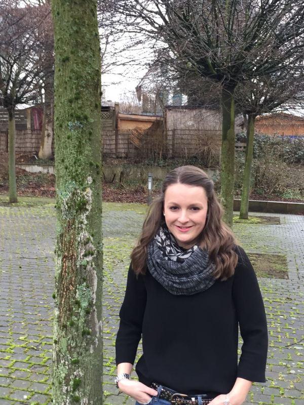 Stella (Q2 2017/18) schlüpfte für zwei Tage in die Rolle einer Europapolitikerin