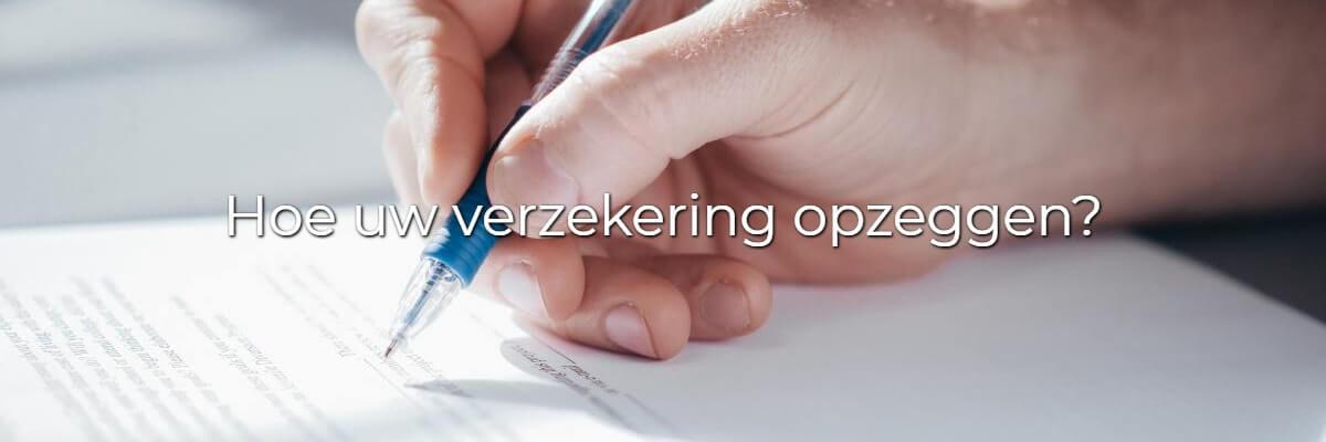 verzekering, opzeg, opzegbrief, autoverzekering, brandverzekering, diest, online, verzekeringsmakelaar
