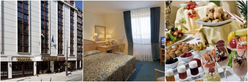 Hotel Erzsebet City Center Budimpesta