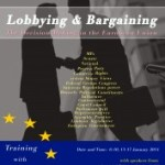 Special Training on Lobbying and Bargaining in the European Union