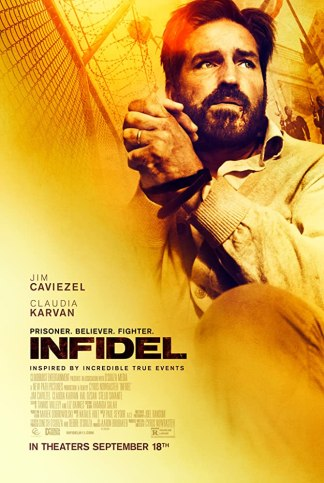 Jim Caviezel's 'Infidel' Premieres in Theaters Today