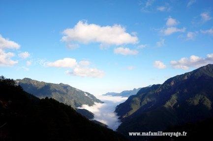 De la chantilly posée sur les montagnes...