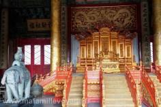 Le trône de l'empereur