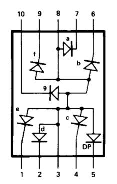 display-7-segmenti-anodo-comune