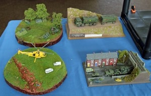 Some of Paul Gandy's 1/152nd scale models